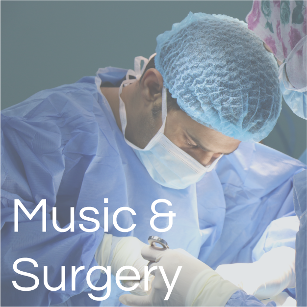 Music 'just as effective' as drugs for calming nerves before surgery